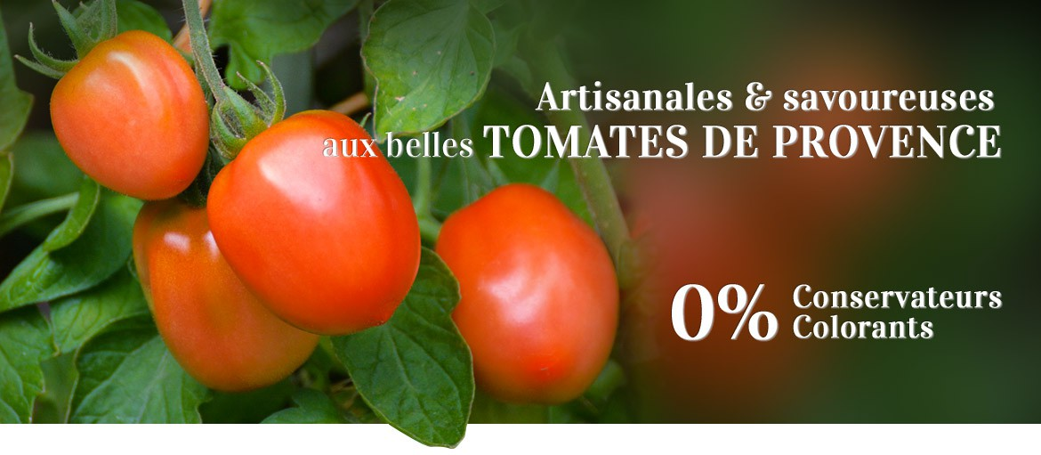 Sauces artisanales, naturelles, sans colorants ni conservateurs ni additifs